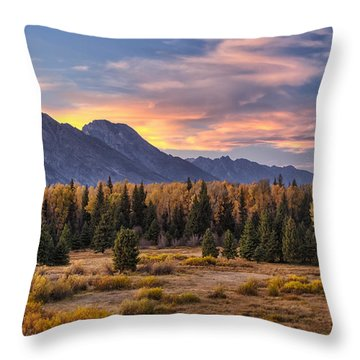 Alluring Conclusion Throw Pillow by Mark Kiver