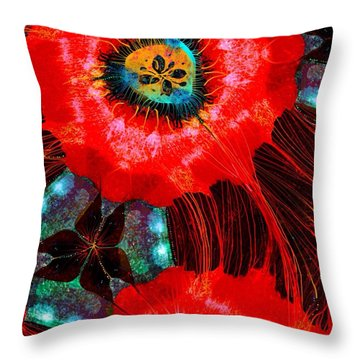 Almost Christmas Throw Pillow by Mary Eichert
