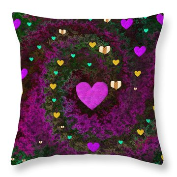 Almost Mandelbrot Throw Pillow by Pepita Selles