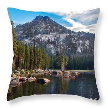 Alpine Beauty Throw Pillow by Robert Bales