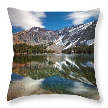 Alta Lakes Throw Pillow by Darren  White