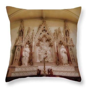 Altar Throw Pillow by Susan Candelario