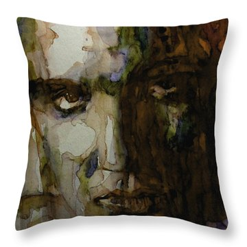 Always On My Mind Throw Pillow by Paul Lovering