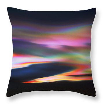 Amazing Mother Nature.. Throw Pillow by Nina Stavlund