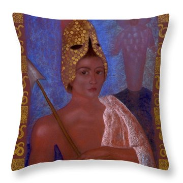 Amazon Throw Pillow by Diana Perfect