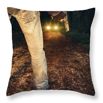 Ambush Throw Pillow by Carlos Caetano