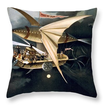 An Actual Scene Throw Pillow by Aged Pixel