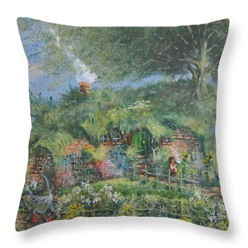 An Unexpected Adventure.the Story Begins. Throw Pillow by Joe  Gilronan