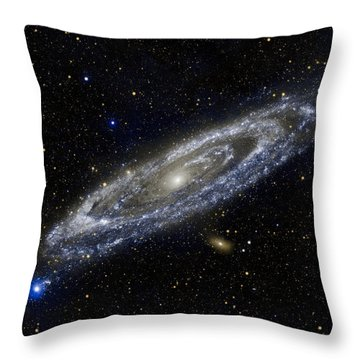 Andromeda Throw Pillow by Adam Romanowicz