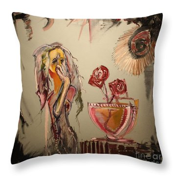 Anonymous Throw Pillow by Michael Kulick