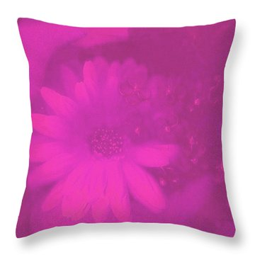 Another Color Suprise Throw Pillow by Pepita Selles