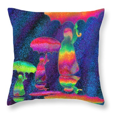 Another Rainy Day 2 Throw Pillow by Nick Gustafson