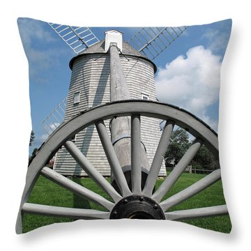 Another View Throw Pillow by Barbara McDevitt