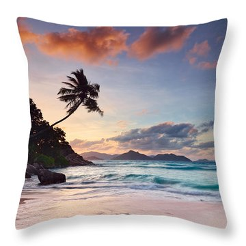 Anse Severe Throw Pillow by Michael Breitung