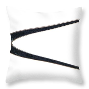 Antique Pliers Throw Pillow by Olivier Le Queinec