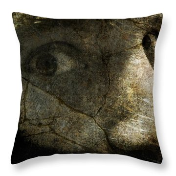 Anxiety Throw Pillow by Mark Miller