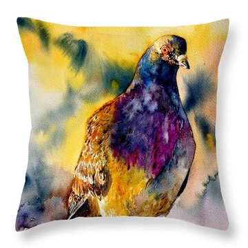 Anytime Anywhere Throw Pillow by Beverley Harper Tinsley
