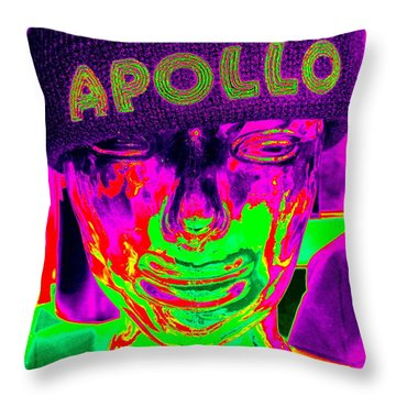 Apollo Abstract Throw Pillow by Ed Weidman