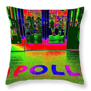 Apollo Pop Throw Pillow by Ed Weidman