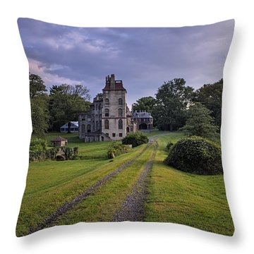 Architectural Treasure Throw Pillow by Susan Candelario