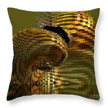 Arisen From The Depths Throw Pillow by Deborah Benoit