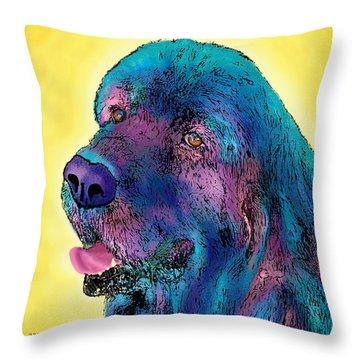 Arthur  Throw Pillow by Marlene Watson