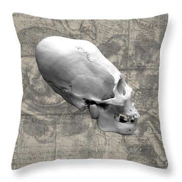Artifactus I I I Throw Pillow by Charles Creasy Jr