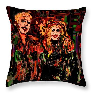 Artists Throw Pillow by Natalie Holland