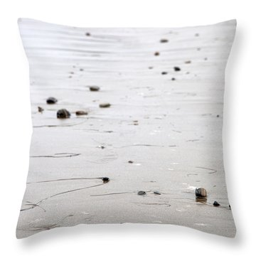 As I Go Throw Pillow by Amanda Barcon