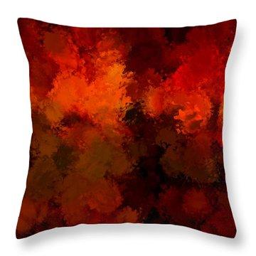 As The Seasons Turn Throw Pillow by Lourry Legarde