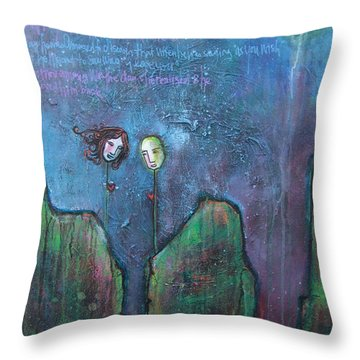 As You Wish Throw Pillow by Laurie Maves ART