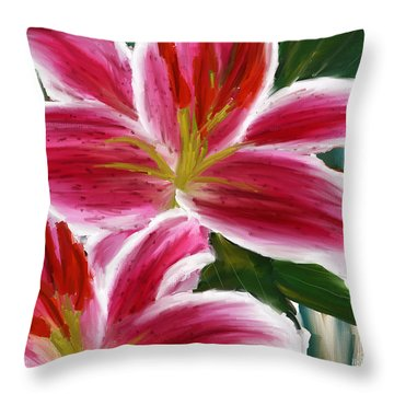 Asiatic Lily Asiatic Lily Paintings Pink Paintings