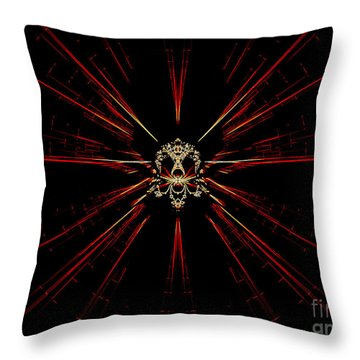 At The Core Throw Pillow by Renee Trenholm