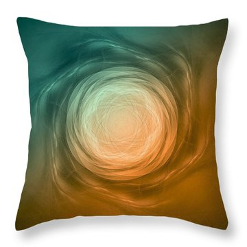 Atome-58 Throw Pillow by RochVanh