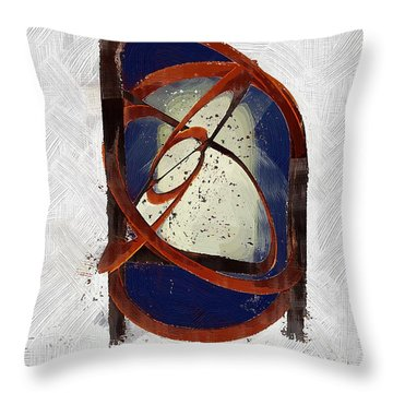 Atomic Truth Throw Pillow by RC deWinter