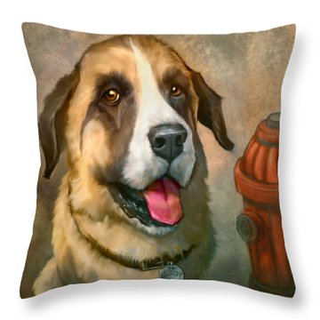Aubrey Throw Pillow by Sean ODaniels