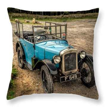 Austin 7 V2 Throw Pillow by Adrian Evans