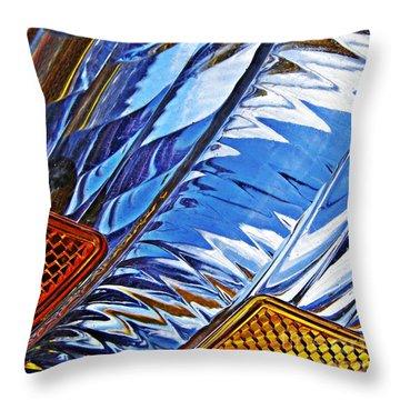 Auto Headlight 29 Throw Pillow by Sarah Loft