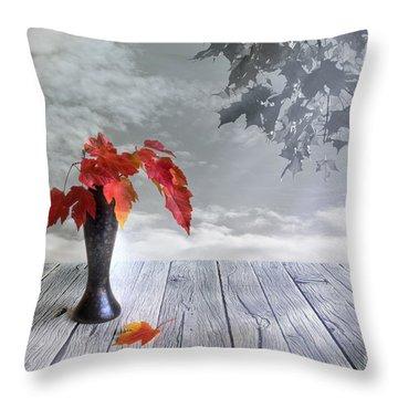 Autumn Still Life Throw Pillow by Veikko Suikkanen