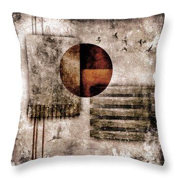 Autumnal Equinox Throw Pillow by Carol Leigh
