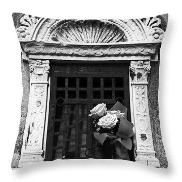 Ave Maria Throw Pillow by John Rizzuto