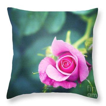 Awakening Throw Pillow by Ivy Ho