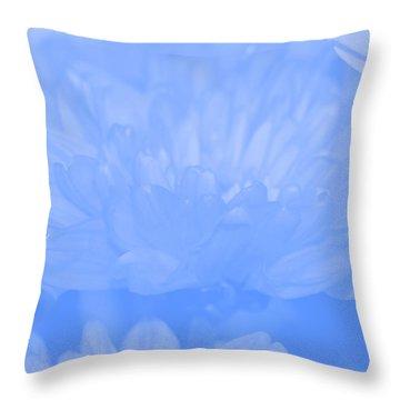 Baby Blue 1 Throw Pillow by Carol Lynch