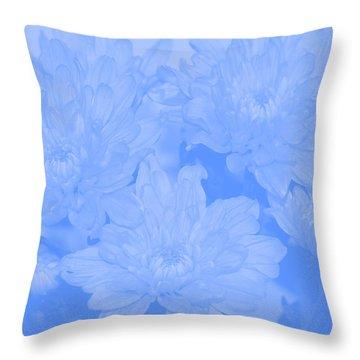 Baby Blue 2 Throw Pillow by Carol Lynch