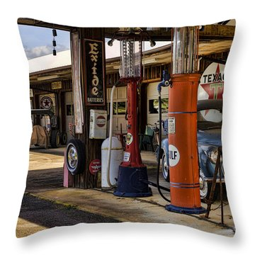 Back In The Day Throw Pillow by Heather Applegate