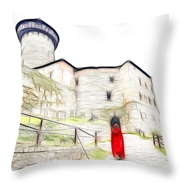 Back To Home Throw Pillow by Michal Boubin
