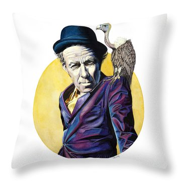 Bad As Me Throw Pillow by Kelly Jade King