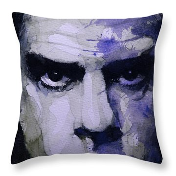 Bad Seed Throw Pillow by Paul Lovering