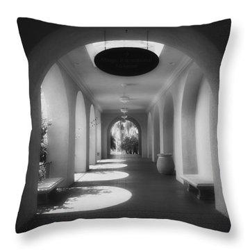 Balboa Park Elements Throw Pillow by Hugh Smith