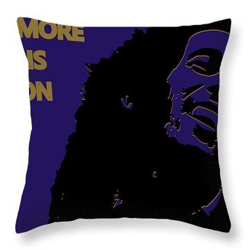 Baltimore Ravens Ya Mon Throw Pillow by Joe Hamilton